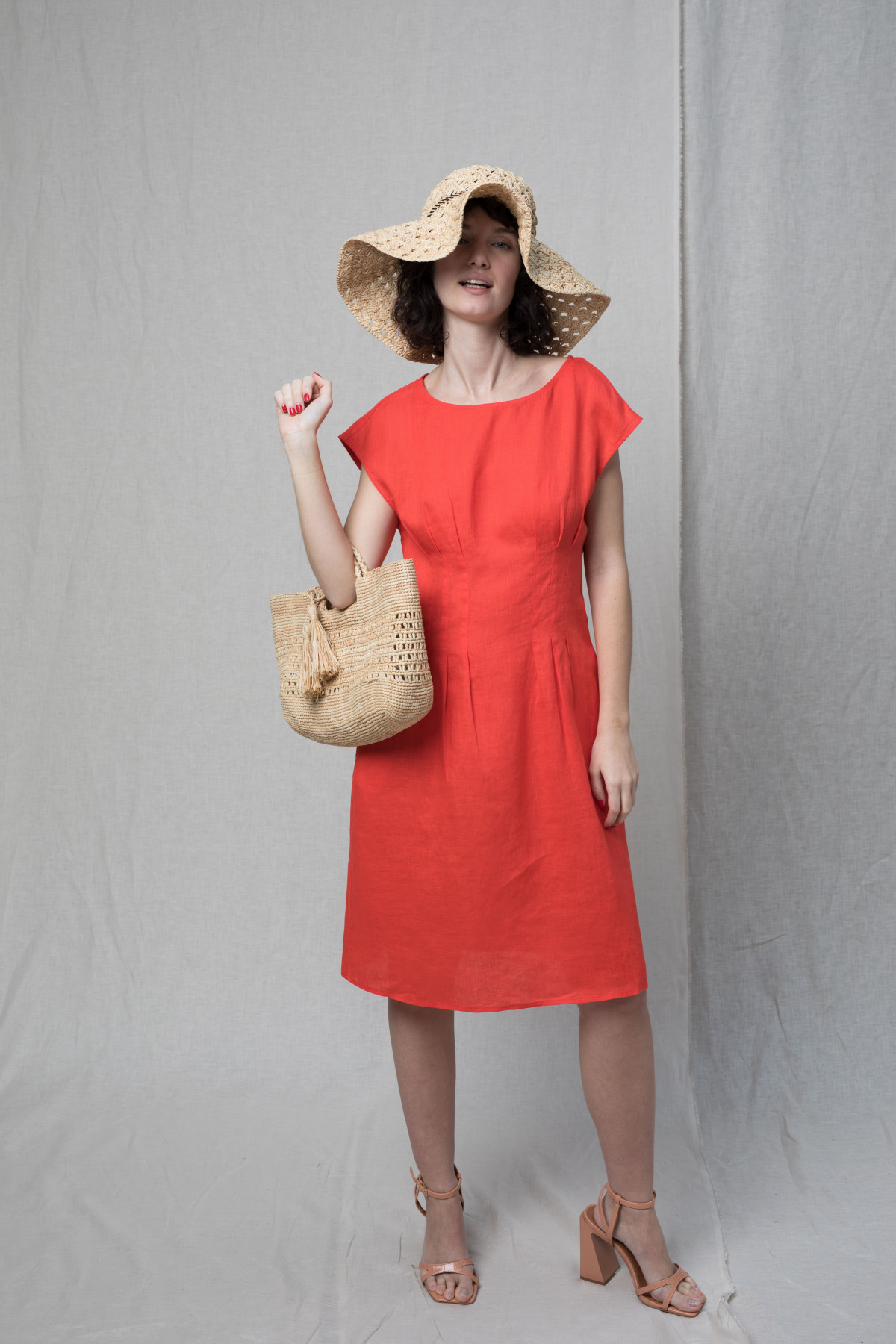 Robe Kennedy ISEULT - Corail