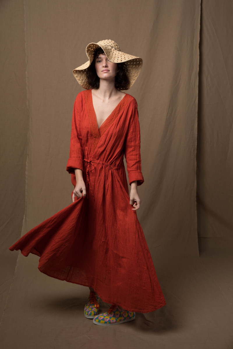 Robe longue taille...