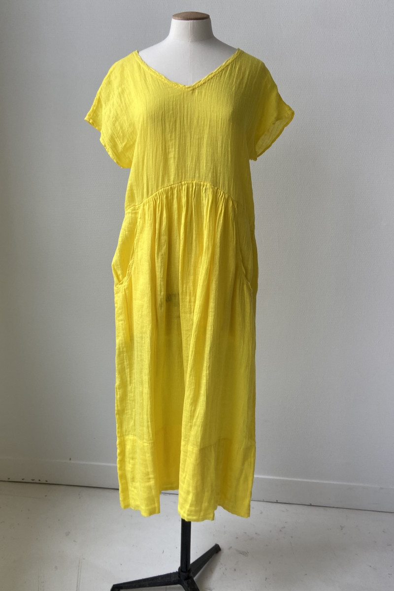 Robe ample TANGY - Mimosa