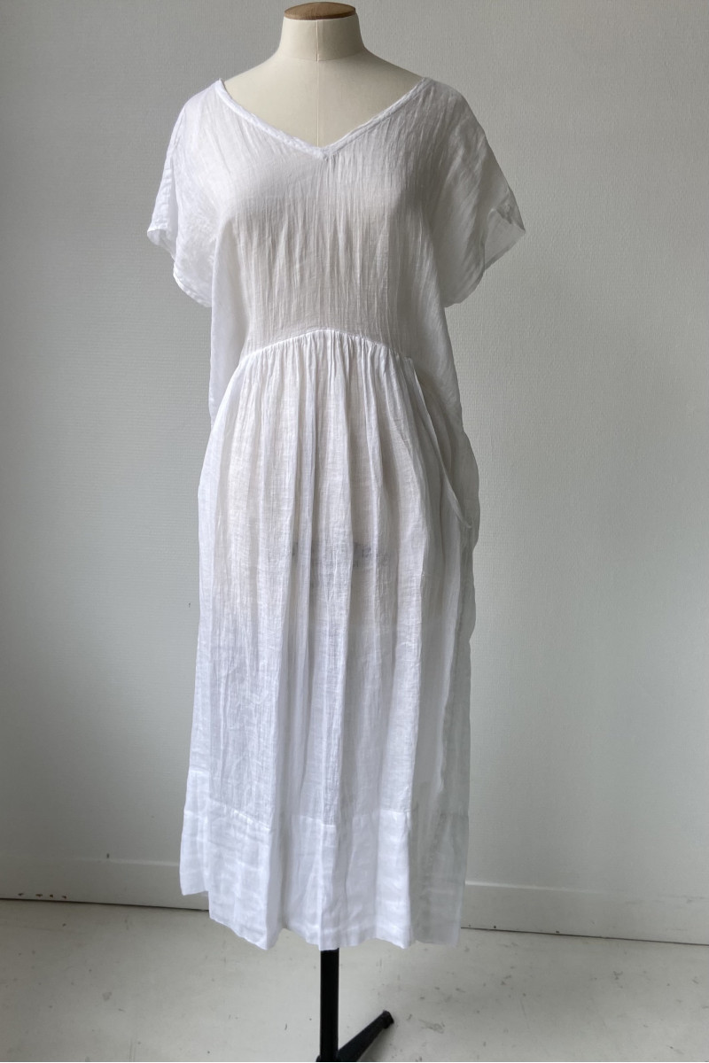 Robe ample TANGY - Blanc