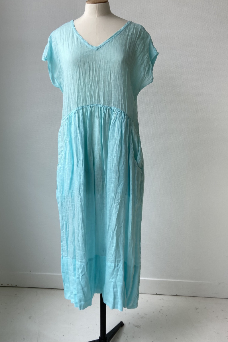 Robe ample TANGY - Azur