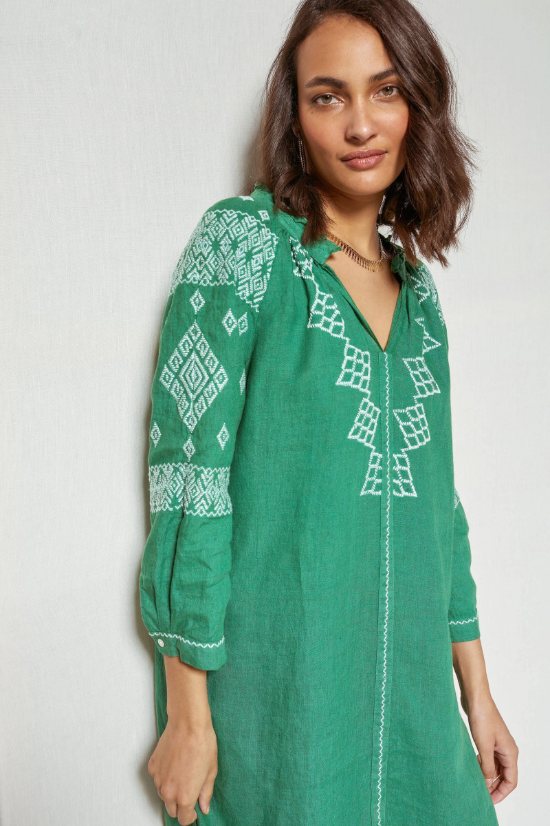 Robe tunique MARION - Jade