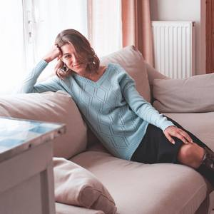 CHOISISSEZ LA DOUCEUR NATURELLE  Le pull ajouré Ridley en laine mérinos extrafine 100% est à découvrir dans 3 coloris sur zyga.fr  ---  🇬🇧   CHOOSE NATURAL SOFTNESS  The Ridley openwork sweater in extrafine merino wool 100 % is to be discovered in 3 colors on zyga. fr
